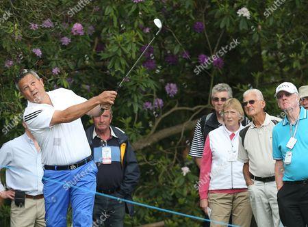 Editorial photo of BMW PGA Pro-Am Championship golf, Wentworth, Surrey, Britain - 21 May 2014