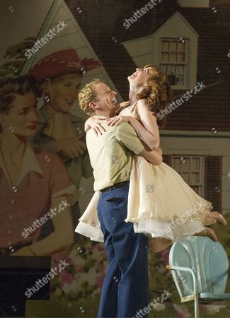 Stock Image of Charles Aitken as Chris and Amy Nuttall as Ann