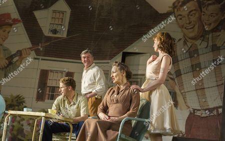 Charles Aitken as Chris, Tom Mannion as Joe, Brid Brennan as Kate and Amy Nuttall as Ann
