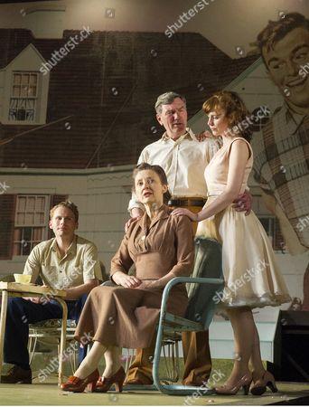 Stock Photo of Charles Aitken as Chris, Brid Brennan as Kate, Tom Mannion as Joe, Amy Nuttall as Ann