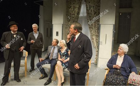 Tristram Wymark as Winston Churchill, Brian Protheroe as Nicholas, William Hope as Miles, Jane Wymark as Mariel, Hywel Morgan as Aneurin Bevan, Stephanie Cole as Iris