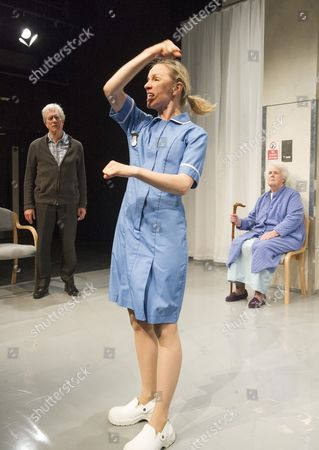 Brian Protheroe as Nicholas, Natalie Klamar as Gina, Stephanie Cole as Iris