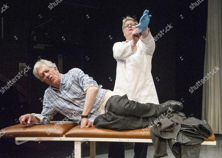 Stock Picture of Brian Protheroe as Nicholas, Tristram Wymark as Mr Weaver