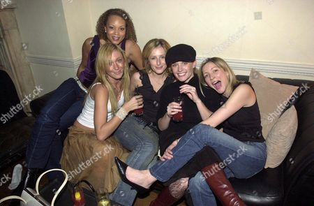 ANGELA GRIFFIN AND JENNY FROST WITH NICOLA STEPHENSON, DAVINIA TAYLOR AND LISA FAULKNER