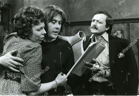 Frances de la Tour, Richard Beckinsale and Peter Bowles