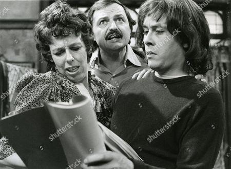 Frances de la Tour, Peter Bowles and Richard Beckinsale