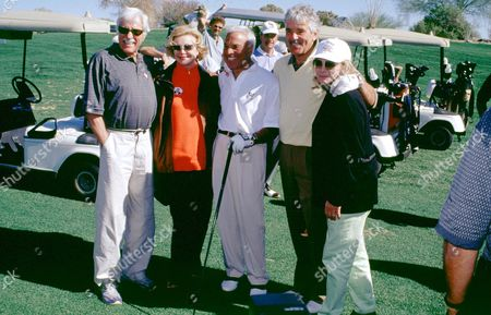 Editorial image of FRANK SINATRA CELEBRITY GOLF TOURNAMENT, DESERT WILLOW, CALIFORNIA, AMERICA - FEB 2002