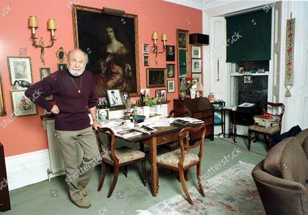 Editorial image of BARRY MORSE AT HOME LONDON, BRITAIN - 03 MAY 2001