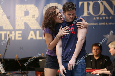 Ciara Renee and Kyle Dean Massey from 'Pippin'