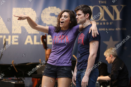 Stock Picture of Ciara Renee and Kyle Dean Massey from 'Pippin'