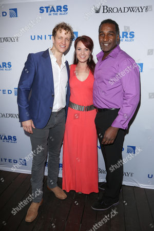 Jeremy Hays, Sierra Boggess and Norm Lewis from 'The Phantom of the Opera'