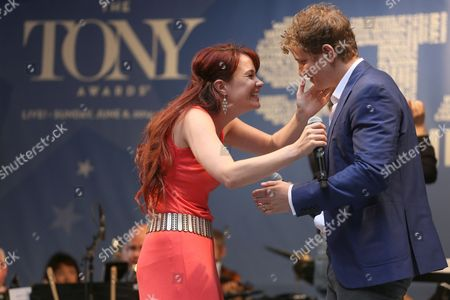 Jeremy Hays and Sierra Boggess from 'The Phantom of the Opera'