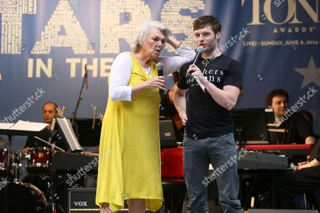 Editorial picture of 'Stars in the Alley' concert in Shurbert Alley, New York, America - 21 May 2014