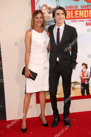 Stock Picture of Brenda Strong and Zak Henri