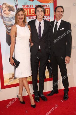 Stock Photo of Brenda Strong, Zak Henri and Tom Henri