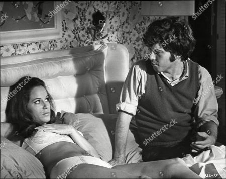 Film: B. S. I Love You. Peter Kastner And Louise Sorel In A Scene From The Film.