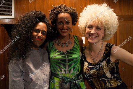 Rahel, Rosabella Gregory and Fiona Bevan
