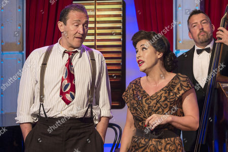 Mark Arden and Jessie Wallace