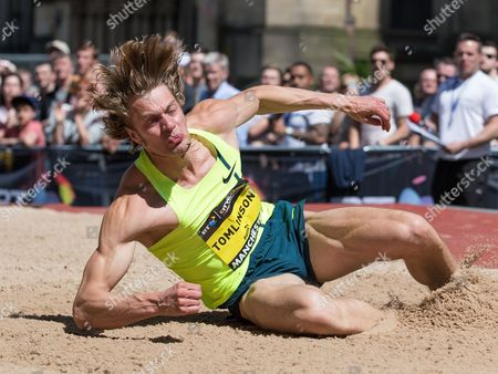 Editorial photo of Great City Games, Manchester, Britain - 17 May 2014