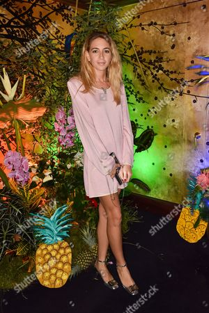 Editorial image of Roger Vivier Summer party at Loulou's, London, Britain - 22 May 2014