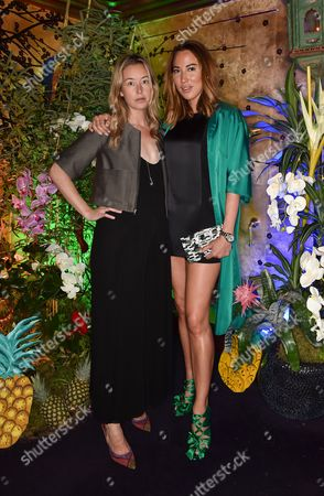 Editorial picture of Roger Vivier Summer party at Loulou's, London, Britain - 22 May 2014