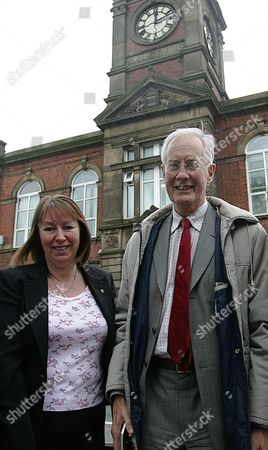 Labour Royton South Candidate, Marie Bashforth and Oldham West and Royton MP Michael Meacher