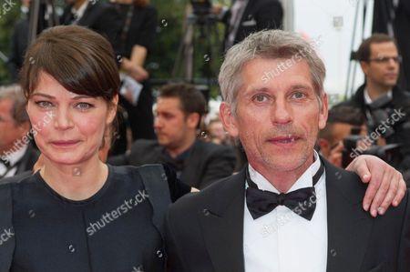 Marianne Denicourt and Jacques Gamblin
