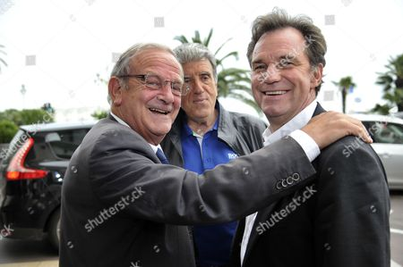 Renaud Muselier and French senator and former mayor of Grasse, Jean Pierre Leleux