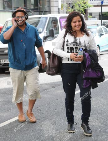Kulvinder Ghir and Nina Wadia