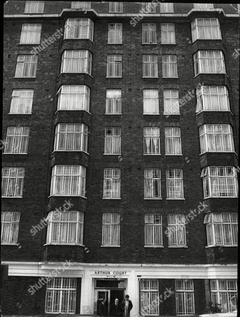 Flats At Arthur Court Queensway London. Re Film Producer Leslie Berens Money Smuggling Story.