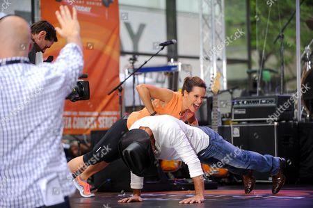 Jenna Wolfe and Tim McGraw