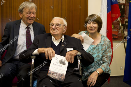 Lord Alfred Dubs and Sir Nicholas Winton