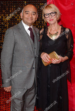 Bhasker Patel and Trudie Goodwin