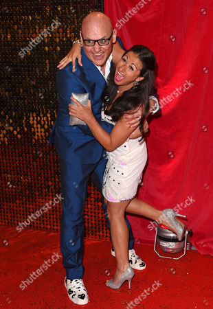 Terry Alderton and Hayley Tamaddon