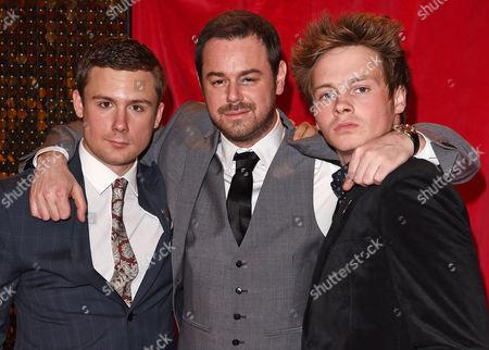 Danny-Boy Hatchard, Danny Dyer and Sam Strike