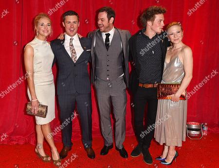 Maddy Hill, Danny-Boy Hatchard, Danny Dyer, Sam Strike and Kellie Bright