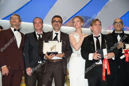 Lambert Wilson, Quentin Tarantino, Nuri Bilge Ceylan, Uma Thurman, Timothy Spall, Bruce Wagner