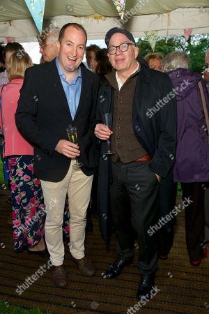 Guto Harri and Michael Wolff