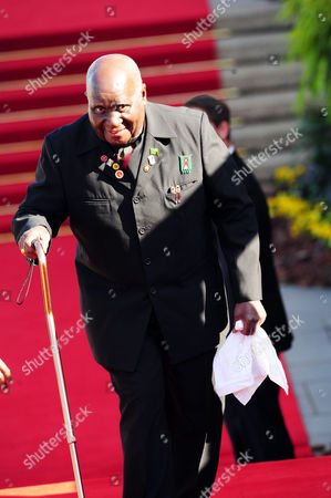 Former President of the Republic of Zambia, Dr. Kenneth Kaunda
