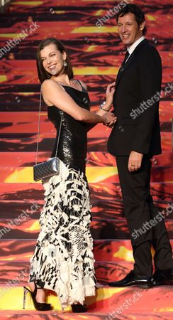 Paul WS Anderson and Milla Jovovich