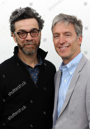 L-R Stephen J Dubner and Steven D. Levitt