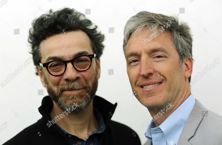 Stock Image of L-R Stephen J Dubner and Steven D. Levitt