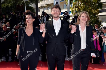 Marie Amachoukeli-Barsacq, Samuel Theis and Claire Burger