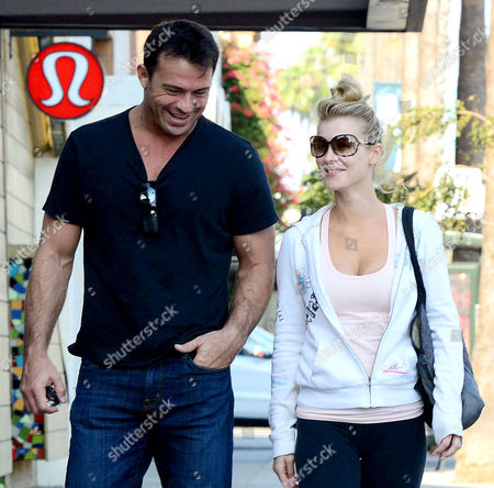 Joanna Krupa and husband Romain Zago