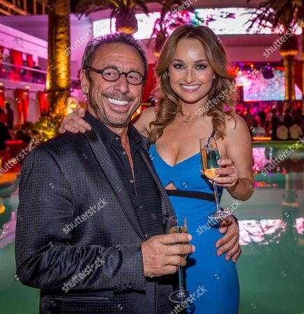 Victor Drai and Giada De Laurentiis
