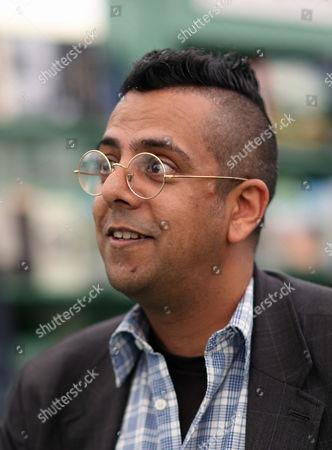 Stock Photo of Simon Singh