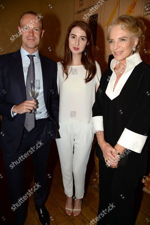 Guest, Isabella Huffington and Princess Michael of Kent