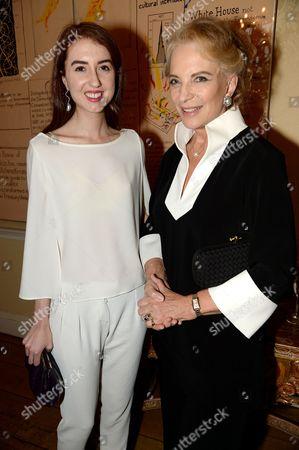 Isabella Huffington and Princess Michael of Kent