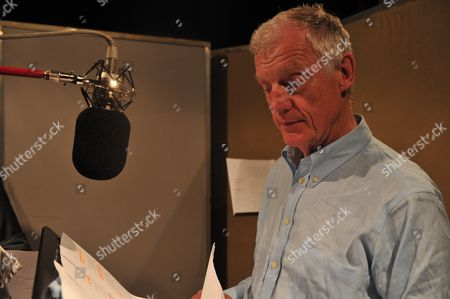 Stock Photo of London United Kingdom June 23: Richard Franklin At The Bbc Studios Recording A Doctor Who Audiobook London June 23