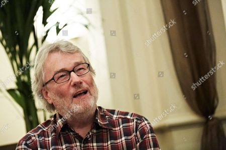 Editorial picture of Iain Banks Portrait Shoot